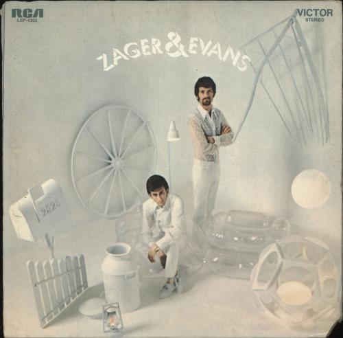Zager & Evans Zager & Evans vinyl LP album (LP record) US Z&ELPZA728073