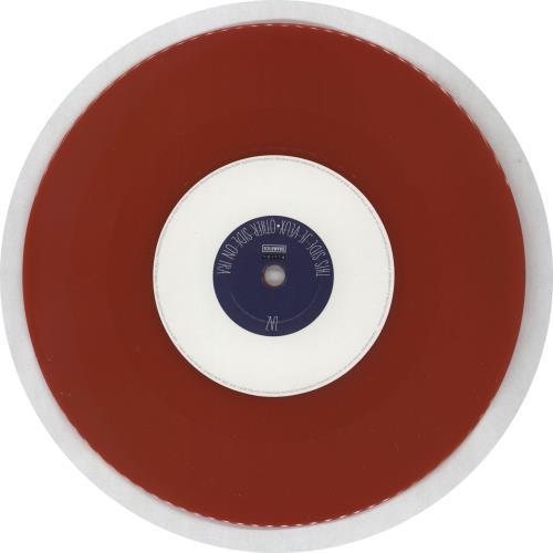 """Zaz Je Veux - Red Vinyl 7"""" vinyl single (7 inch record) UK 3F407JE765226"""