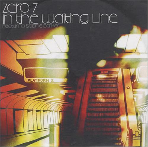 Zero 7 In The Waiting Line Brown Sleeve Uk Promo Cd R Acetate 201799