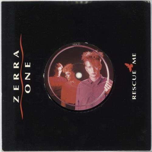 "Zerra I Rescue Me 7"" vinyl single (7 inch record) UK ZE407RE717576"