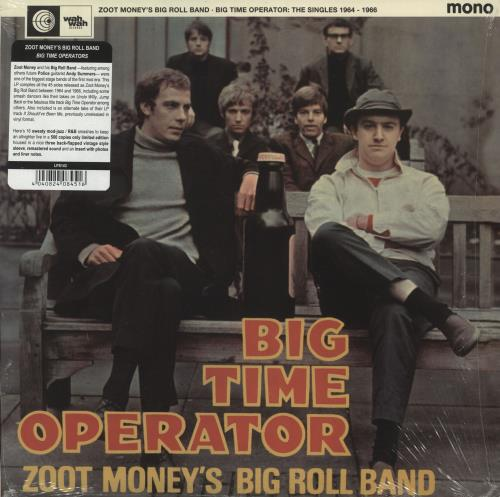 Zoot Money Big Time Operator: The Singles 1964-66 vinyl LP album (LP record) Spanish ZOOLPBI721364