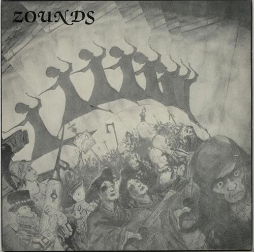 """Zounds Dancing 7"""" vinyl single (7 inch record) UK ZOU07DA633453"""