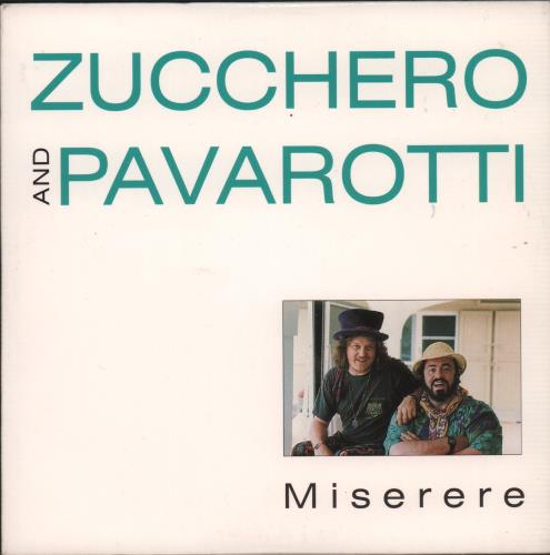 "Zucchero Miserere CD single (CD5 / 5"") UK ZUCC5MI152997"