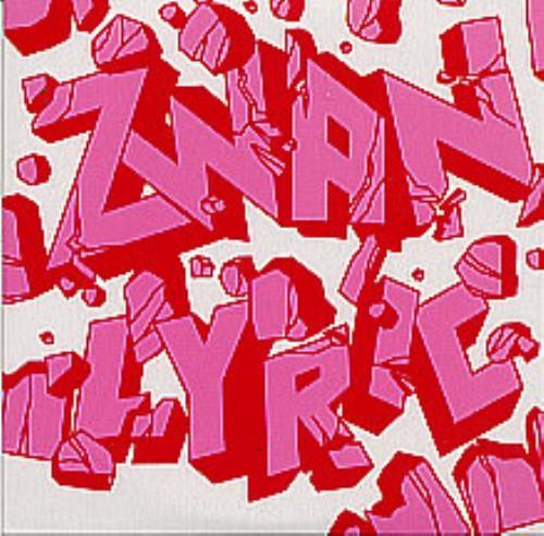 """Zwan Lyric CD single (CD5 / 5"""") German ZWAC5LY247507"""