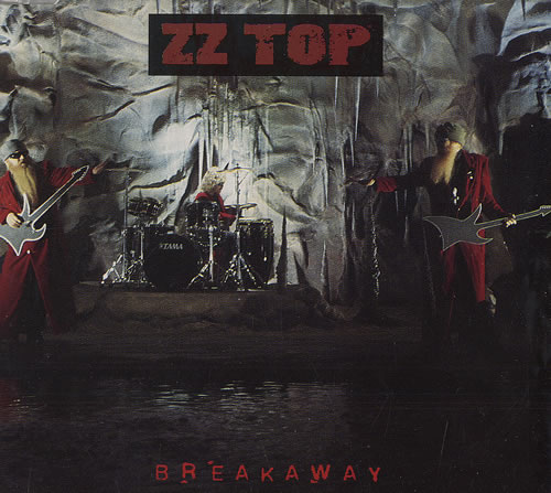"ZZ Top Breakaway CD single (CD5 / 5"") German ZZTC5BR25855"
