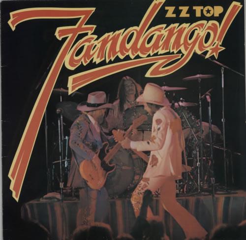 ZZ Top Fandango! vinyl LP album (LP record) German ZZTLPFA591011
