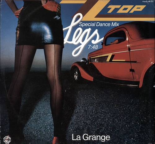 Zz Top Legs Special Dance Mix German 12 Quot Vinyl Single