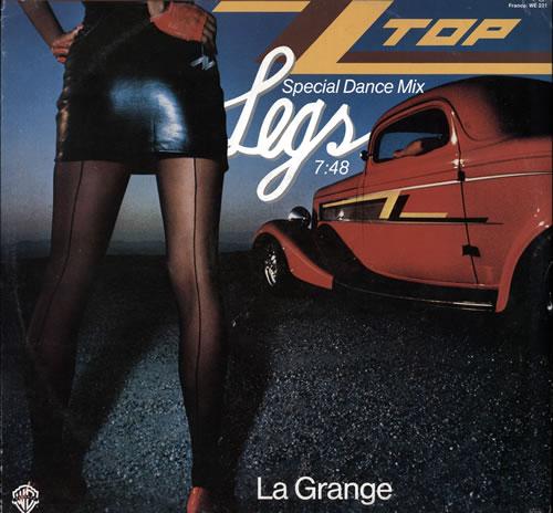 Zz Top Legs Special Dance Mix German 12 Quot Vinyl Single