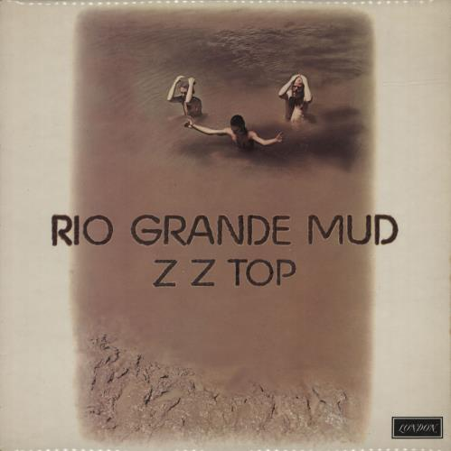 ZZ Top Rio Grande Mud vinyl LP album (LP record) UK ZZTLPRI383068