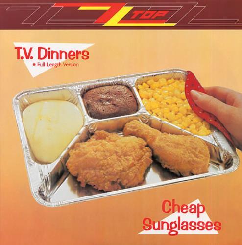 "ZZ Top T.V. Dinners (Full Length Version) 12"" vinyl single (12 inch record / Maxi-single) UK ZZT12TV20462"